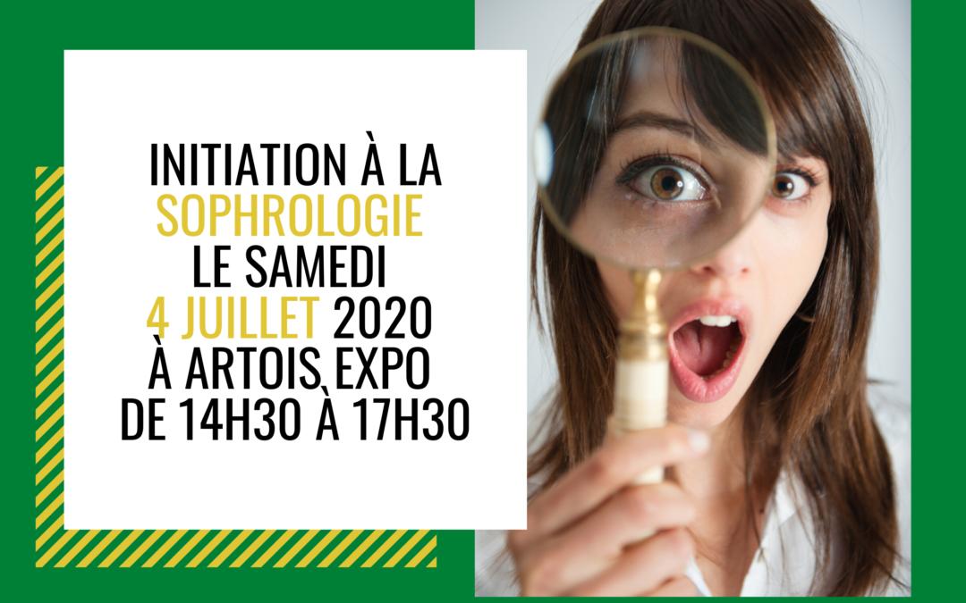Initiation à la Sophrologie le 4 juillet 2020