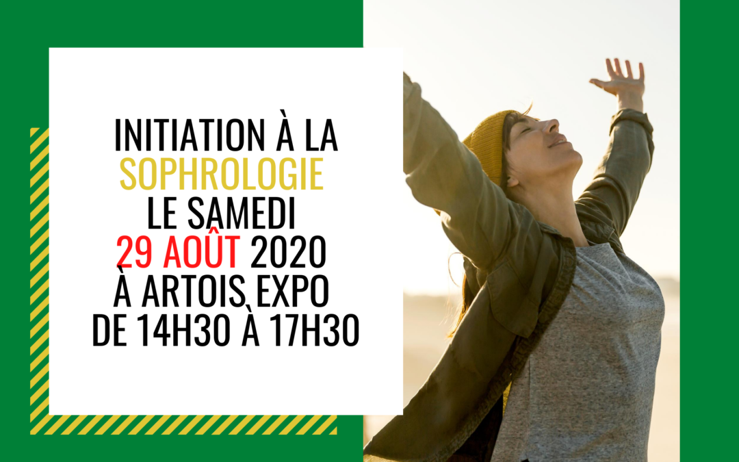 2ème Initiation à la Sophrologie le 29 août 2020