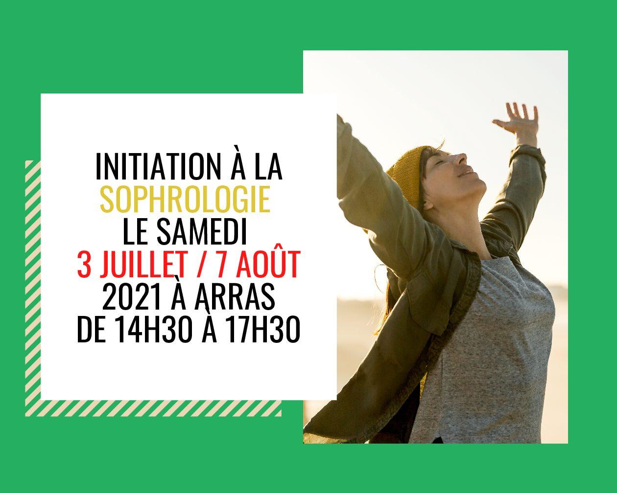 Initiations à la Sophrologie le 03 Juillet et le 7 Août 2021